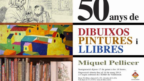 L'EMD inaugura una exposició de l'obra de Miquel Pellicer