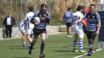 El Club Rugby Sant Cugat colpeja primer i està a un pas de l'ascens