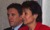 L'exministra Birulés i l'alcalde Recoder van assisitir a la xerrada sobre el sincrotró que es va fer a Catalana Occident