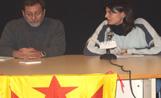 Un moment de la xerrada sobre els 'Papers de Salamanca' organitzada per Maulets