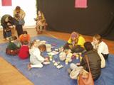 L'objectiu és que pares i mares s'impliquin una mica més en aquest espai lúdic i pedagògic per als més petits