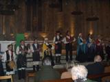 Actuació d'un dels 10 grups