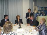 L'alcalde amb els premiats, Pep Blanes i Enriqueta Guarch