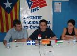 El president de les JNC, Jordi Puigneró, a la seu de CDC
