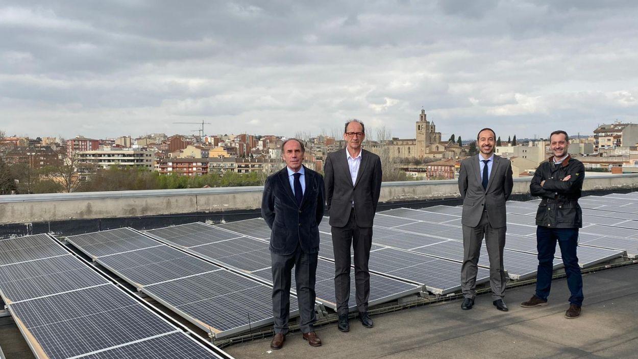 D'esquerra a dereta: Román Rousaud i Josep Pratdesaba (socis fundadors de Conecta 2 energía) / Foto: Conecta 2 Energia