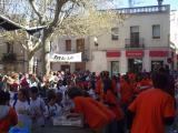 Centenars de famílies han participat a la Marxa, com es veu a l'arribada