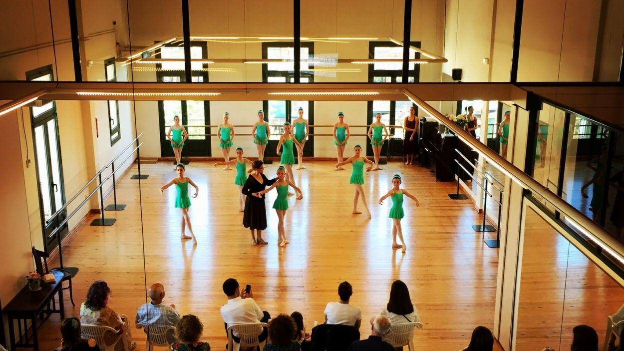 Laura Esteve Centre de Dansa abans de les restriccions / Foto: Cedida