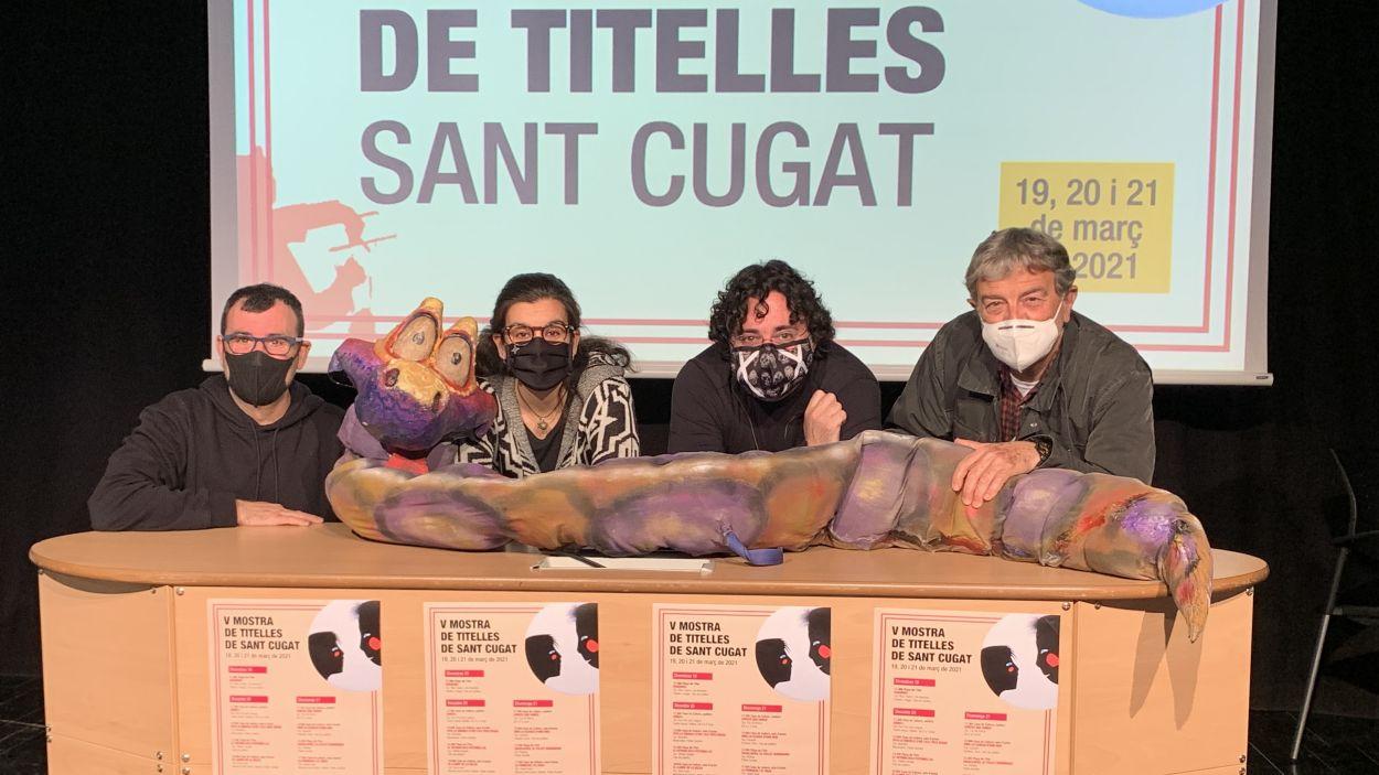 Moment de la presentació de la mostra / Foto: Cugat Mèdia