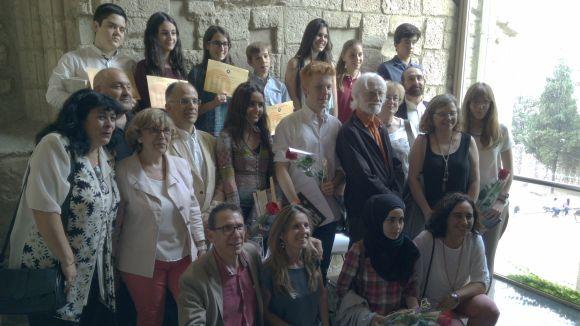 Iona Downs, Paula Barja i Ona Ibáñez, guanyadores del 10è Premi Pere Ferrer