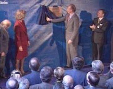 1999: Els Reis inauguren la farmacèutica Boehringer Ingelheim