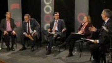 La crisi i la relació Catalunya-Espanya marquen el debat electoral de Cugat.cat