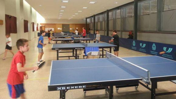 La UE Sant Cugat organtiza diumenge el Torneig No Federat de tennis taula