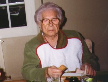 Avui fa 106 anys Aurora Monterroso, la santcugatenca més longeva