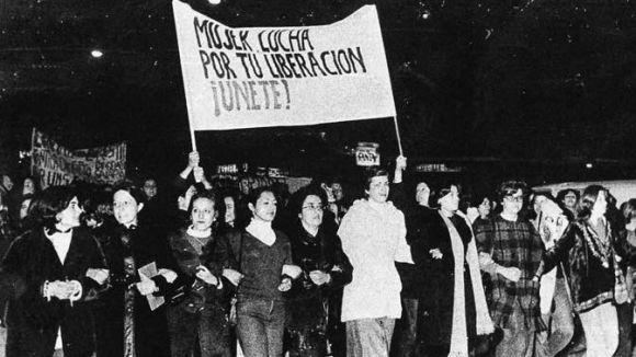Dones amb Iniciativa participa a la marxa contra la violència masclista a Madrid