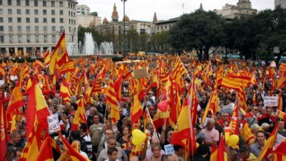 El PP lamenta el tracte d'alguns mitjans sobre la concentració espanyolista del 12-O
