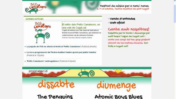 El millor dels Petits Camaleons, en una web de Cugat.cat