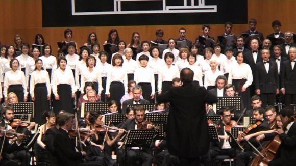 La 9a Simfonia de Beethoven commou els espectadors del Teatre-Auditori