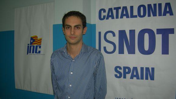 Oriol Torres (JNC): 'Hem de fer pedagogia a favor de l'estat propi'