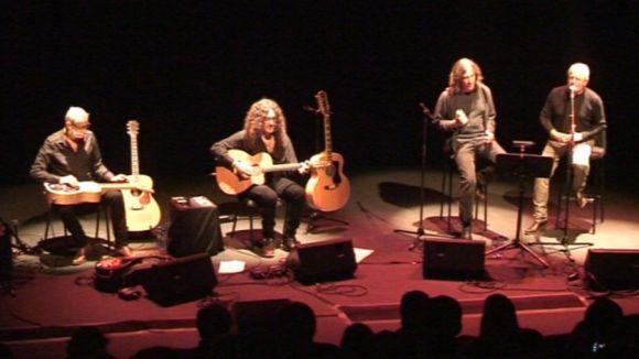 Gerard Quintana i Jordi Batiste ofereixen un concert intimista a la Sala Escenari