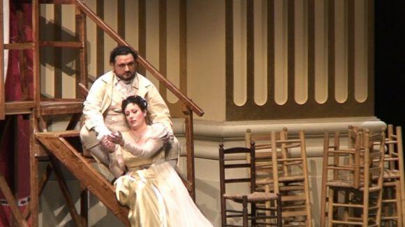 El Teatre-Auditori es tenyeix de vermell amb l'òpera de Puccini