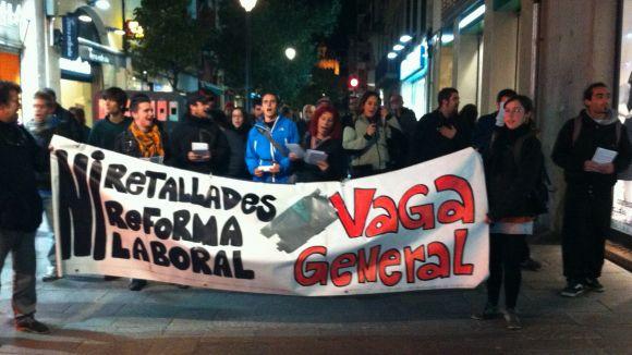 El Comitè de Suport a la Vaga encoratja els santcugatencs a sumar-se a la vaga