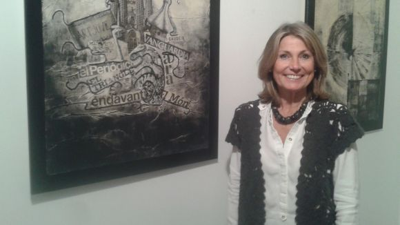 L'artista Maria Cecilia Ornague s'estrena a Sant Cugat