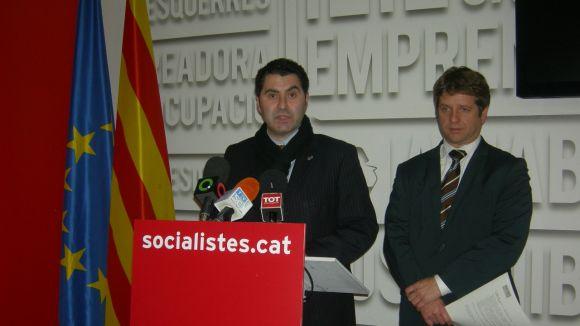 El PSC busca un pressupost 'més social' amb 55 al·legacions