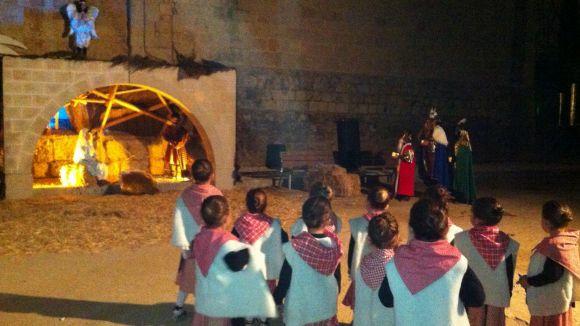 El Pessebre Vivent exporta l'esperit nadalenc i solidari