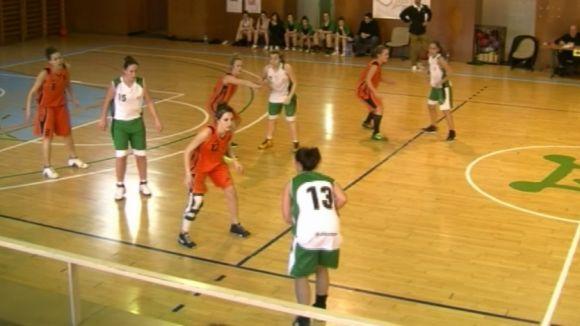 El Club Bàsquet Mira-sol femení continua a la part alta