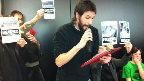 El CASC torna a denunciar les maniobres militars a Collserola
