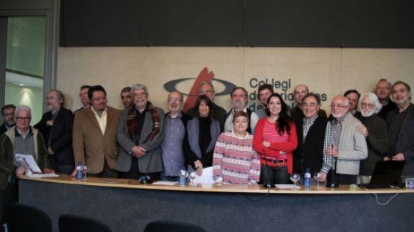 El manifest s'ha presentat aquest dimecres a Barcelona / Font: Acn.cat
