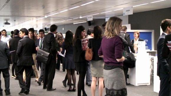 Empreses i estudiants es donen la mà al 'Career Forum' d'Esade