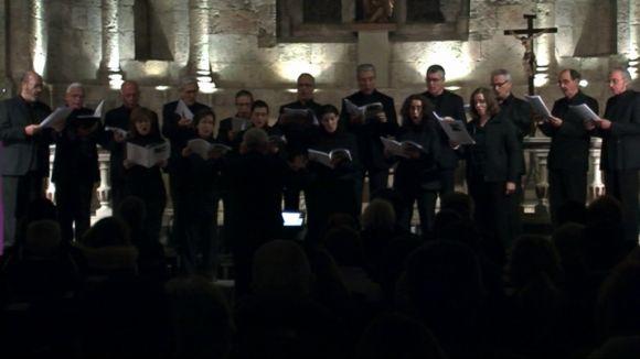 El cant gregorià omple el Monestir per reunir 10 segles de música sacra