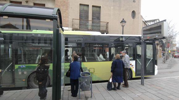 L'Ajuntament treballarà per eliminar el pas de busos per la plaça de l'estació