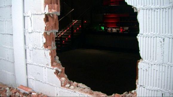 Robatori a la Sala Hoboken: un 'butron' de 15.000 euros