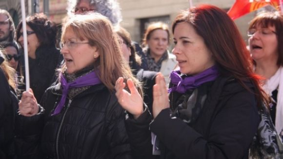Els partits ratifiquen el Manifest del Dia de la Dona sense el suport del PP