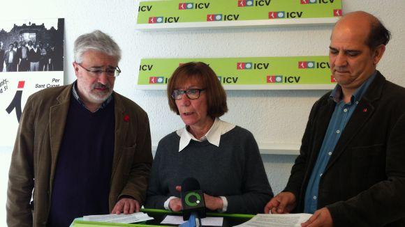 Decreixement, dret a decidir i agenda social: pilars d'ICV a l'assemblea nacional