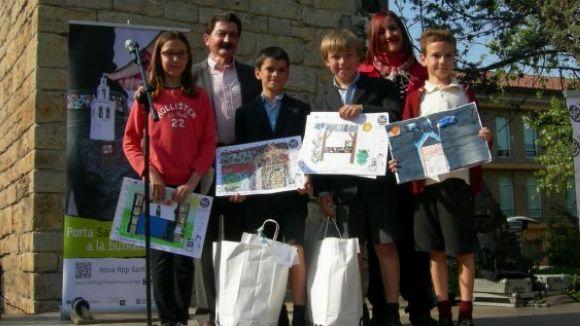 Sant Cugat Comerç premia la inventiva dels nens en comerç de proximitat