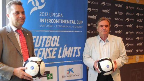 La Federació Catalana de Futbol serà present a la ICUP amb pilotes i àrbitres