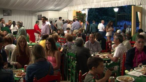 El CPA manté la tradició a la seva caseta com a punt de trobada de la festa