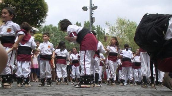 Bastons i gralles carreguen el final de Festa Major