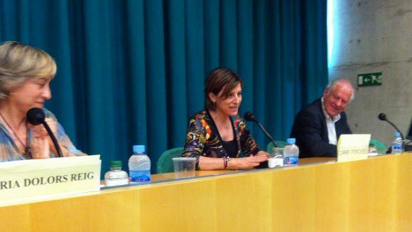 Forcadell destaca Sant Cugat com a pionera en activitats a favor de la independència