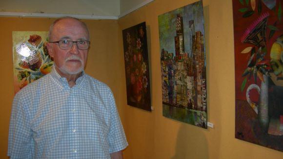 L'artista Joan Yus estrena la seva primera exposició al vestíbul de l'Ateneu