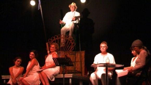 Els riures del públic han acompanyat la segona jornada de Lectures a la Fresca