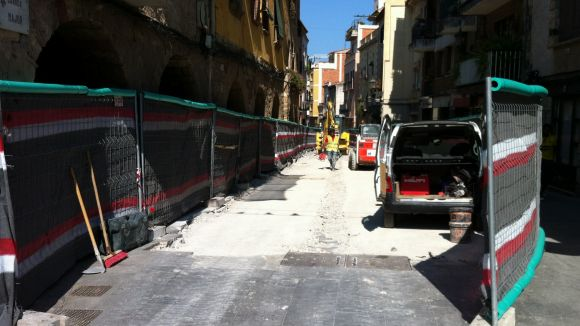 Les obres del carrer Major i de la rambla de Ribatallada, a debat