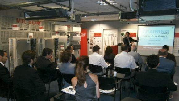 Mitsubishi Electric inaugura un nou centre de formació sobre climatització