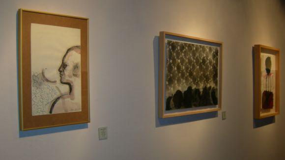Les obres que s'exposen a la galeria són de petit format