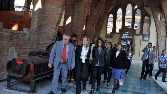 La ministra de Foment inaugura les obres del Celler Cooperatiu