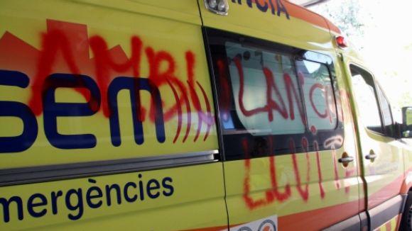 Desconvocada la vaga d'ambulàncies