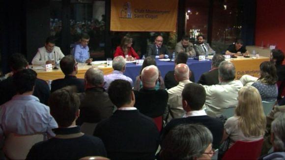 Els partits es posicionen sobre el dret a decidir i la independència